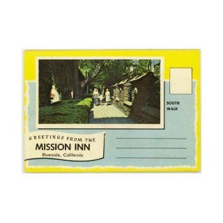 Mission Inn (Glenwood Hotel   Riverside California) (1950's Souvenir Postcard Folder) Frank A. Miller, Mary Chesrown Books