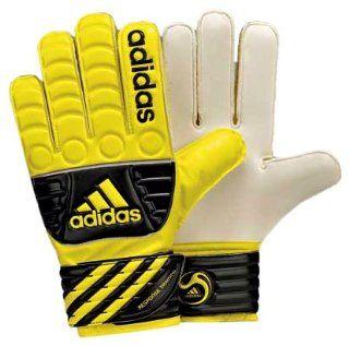 adidas Response Training Goalkeepers Glove (Lemon Peel/Black/White, 10 )  Soccer Goalie Gloves  Sports & Outdoors