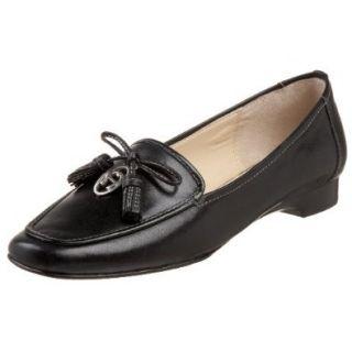 Etienne Aigner Women's Vita Loafer,Black Calf,6 M US Shoes