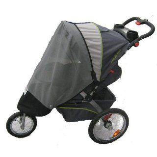 Baby Trend Single Swivel Wheel Jogger Rain and Wind Cover  Baby