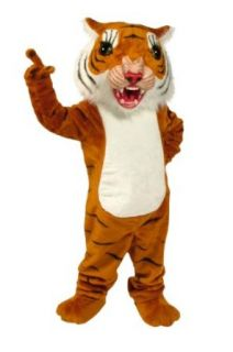 ALINCO Big Cat Tiger Mascot Costume: Clothing