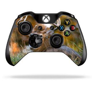 MightySkins Protective Vinyl Skin Decal Cover for Microsoft Xbox One Controller Sticker Skins Deer: Electronics