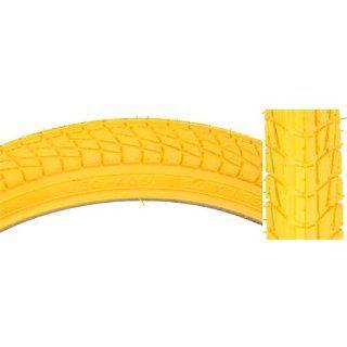 Kenda Freestyle Kontact Tire 20 x 1.95 Yellow/Yellow  Bike Tires  Sports & Outdoors
