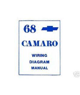 1968 CHEVROLET CAMARO Wiring Diagrams Schematics: Everything Else