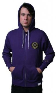 Diamond Supply Co. Crest Patch Purple Zip Hoodie Size: 2XL at  Men�s Clothing store
