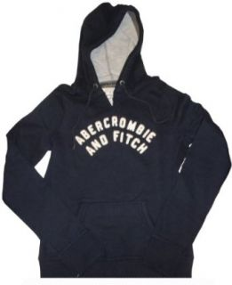 Women's / Girl's Abercrombie and Fitch Hooded Sweat Jacket Hoodie Navy Size Large