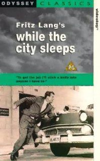 While the City Sleeps [VHS] Dana Andrews, Rhonda Fleming, George Sanders, Howard Duff, Thomas Mitchell, Vincent Price, Sally Forrest, John Drew Barrymore, James Craig, Ida Lupino, Robert Warwick, Mae Marsh, Ernest Laszlo, Fritz Lang, Gene Fowler Jr., Bert