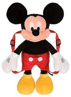 """Disney Mickey Mouse Plush Doll Backpack 16"""" Toys & Games"""