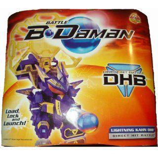 Battle B Daman Direct Hit Figure: Lightning Kahn DHB: Toys & Games