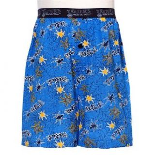 Little Boys Blue Yellow Spider Web Boxer Shorts Underwear 4 18: No: Clothing