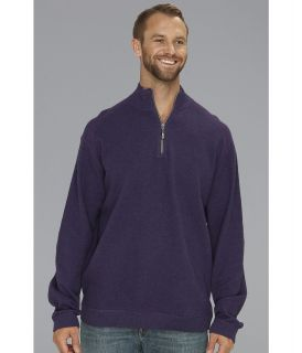 Tommy Bahama Big & Tall Big Tall Flip Side Pro Half Zip Mens Clothing (Purple)
