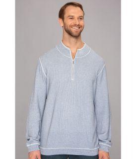 Tommy Bahama Big & Tall Big Tall Seaside Avenue Half Zip Sweater Mens Sweater (Blue)