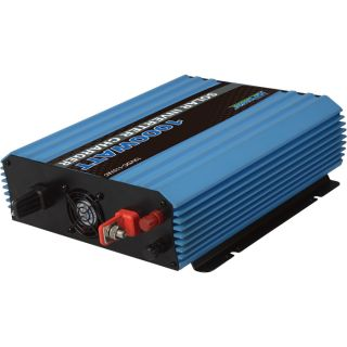 NPower Modified Sine Wave Integrated Inverter/Charger   1,000 Watt Inverter/10