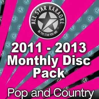 All Star Karaoke October 2011   September 2013 Pop and Country Disc Hits Pack (ASK 36M PK PRO) Music