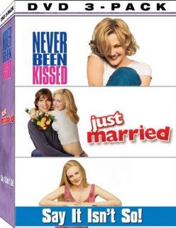 Kiss and Tell 3 Pack (Never Been Kissed / Say It Isn't So / Just Married): Drew Barrymore, Ashton Kutcher, Brittany Murphy, Christian Kane, Chris Klein, Heather Graham, David Arquette, Michael Vartan, Molly Shannon, John C. Reilly, Garry Marshall, Sean