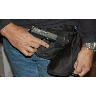 MEDIUM   DTOM Concealed Carry Fanny Pack CORDURA NYLON Black  Tactical Fanny Packs  Sports & Outdoors