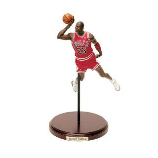 Chicago Bulls   Michael Jordan (1988 Slam Dunk Contest) Upper Deck NBA Historical Beginnings Figurine  Wallpaper  Sports & Outdoors