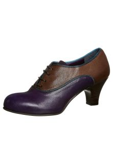 Chicas   LAS VEGAS   Lace up heels   purple