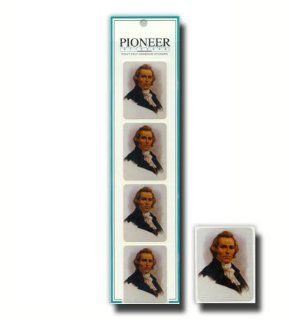Gary Kapp Stickers, LDS Stickers, Joseph Smith, Package of Eight  This Design Is in Spanish. Each Package Contains 72 Coordinating Stickers  Great for Scrap booking, Card Making and Designing, and Other Craft Projects  Primary, Young Women, Young Men, Reli