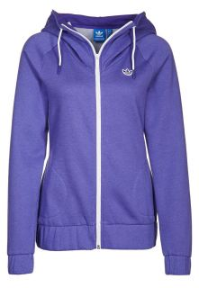 adidas Originals   FLEECE HOOD TT   Tracksuit top   purple
