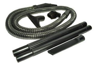 "Panasonic Upright Vacuum Cleaner Replacement Hose/Attachment Kit, contains a 6 foot long 1 1/4"" black vinyl wire reinforced hose, dust brush, upholstery nozzle, crevice tool and 2 black plastic wands   Household Vacuum Hoses"