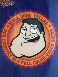 """American Dad Magnet """"Well Done, Fellas; Our Country Is a Full Color value Safer"""" : Other Products : Everything Else"""