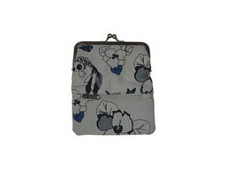 large flora and fauna purse by fox in love