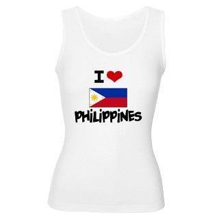 I HEART PHILIPPINES FLAG Tank Top by listing store 10501932