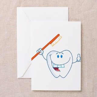 Funny Dentist Dental Hygienist Greeting Cards (Pk by AtomicCotton