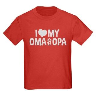 I Love My Oma and Opa T by totaletees
