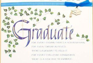 """Graduation Card """"Graduate , For Every Ending, There's a New Beginning"""" Health & Personal Care"""
