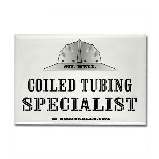 Coiled Tubing Specialist Rectangle Magnet by boozykelly
