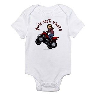 Light Skin ATV/Four Wheeling Infant Bodysuit by girlscantwhat