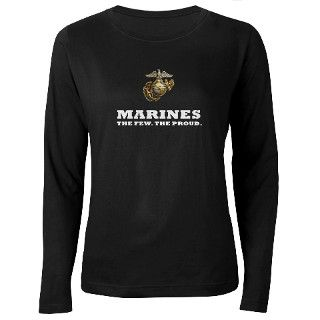 Marines white   Eagle Globe A T Shirt by TeamWinchester