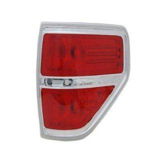 PASSENGER SIDE TAIL LIGHT Ford F 150, Ford F 250, Ford F 350, Ford F 450 LENS AND HOUSING; FOR STYLESIDE MODELS; EXCEPT FX2/HARLEY DAVIDSON MODELS/SVT RAPTOR; Automotive