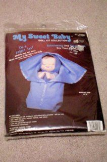 "My Sweet Baby Doll Kit Collection    Entertaining and Educational For Your Child    Puppet, too    Cuddly, soft and warm    Finished Size 16""    Kit includes everything except polyfill and batting    New Old Stock as shown  Other Products  Everythin"
