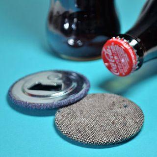 'saville row' magnetic bottle opener by bread & jam