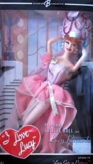 """BARBIE I Love Lucy """"LUCY GETS in PICTURES"""" DOLL Episode 116 BARBIE COLLECTOR (2006) Toys & Games"""