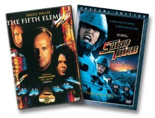 The Fifth Element / Starship Troopers (Special Edition) Bruce Willis, Milla Jovovich, Gary Oldman, Casper Van Dien, Denise Richards, Ian Holm, Chris Tucker, Luke Perry, Brion James, Tommy 'Tiny' Lister, Lee Evans, Charlie Creed Miles, Luc Besson,