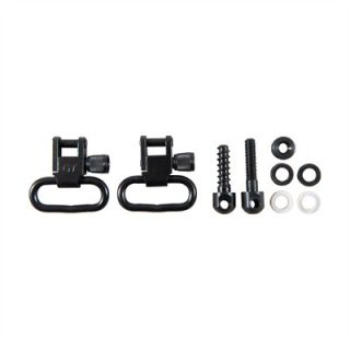 Rifle Sling Swivel Sets   1, Kit Incl Swivels W/Mach Screw Frt Stud,Wood Scrw Rr Stud
