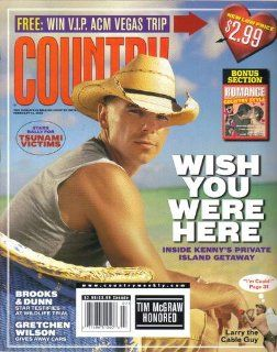 Inside Kenny Chesney's Private Island Getaway / Brooks & Dunn Star Testifies At Wildlife Trial / Gretchen Wilson Gives Away Cars / Larry the Cable Guy (Country Weekly, February 14, 2005): Bill Gubbins: Books