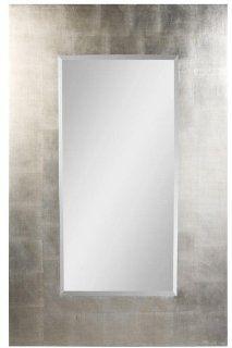 "Simon Wall Mirror, 56""Hx36""W, BLACK SILVER   Wall Mounted Mirrors"