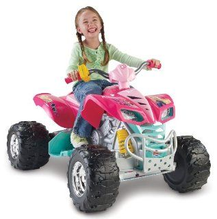Power Wheels Hot Wheels Barbie Kawasaki KFX Toys & Games