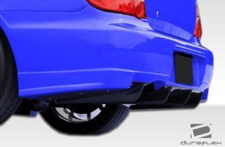 2006 2007 Subaru Impreza WRX STI 4DR Duraflex GT500 Wide Body Rear Diffuser   1 Piece Automotive