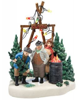 department 56 a christmas story village the perfect tree collectible figurine retired 2013 holiday - A Christmas Story Village