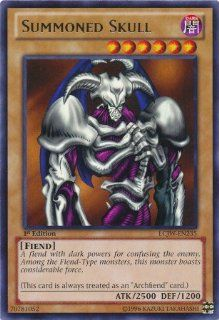 Yu Gi Oh   Summoned Skull (LCJW EN235)   Legendary Collection 4 Joey's World   1st Edition   Rare Toys & Games