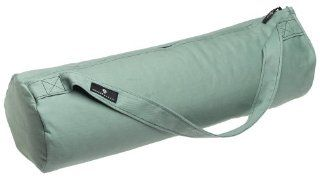 Hugger Mugger Bella Basic Yoga Mat Bag (Green Leaf)  Sports & Outdoors