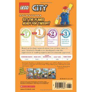 Ready for Takeoff! (LEGO City, Scholastic Reader, Level 1) (9780545219860): Scholastic, Sonia Sander: Books
