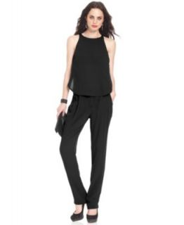 GUESS Cara Denim Jumpsuit   Pants & Capris   Women