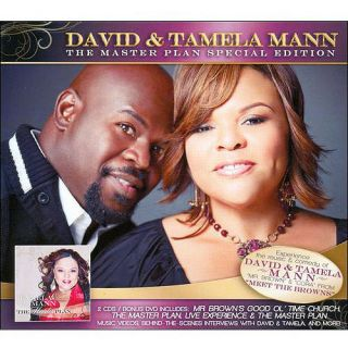 The Master Plan (Special Edition) (3 Disc Box Set) (2 CDs and 1 DVD), Tamela Mann Christian / Gospel